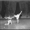 "New York City Ballet production of ""Divertimento No. 15"" with Victoria Simon and Robert Rodham, choreography by George Balanchine (New York)"