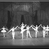 "New York City Ballet production of ""Divertimento No. 15"" with Robert Rodham, Carol Sumner, Anthony Blum, Mimi Paul, and Earle Sieveling, choreography by George Balanchine (New York)"