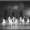 "New York City Ballet production of ""Divertimento No. 15"", with Lynda Yourth, Marnee Morris, Patricia Wilde, Patricia Neary, Sara Leland, choreography by George Balanchine (New York)"