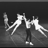 "New York City Ballet production of ""Apollo"" with Jacques d'Amboise and Melissa Hayden (rear left),Patricia Neary and Mimi Paul, choreography by George Balanchine (New York)"