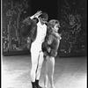 """New York City Ballet production of """"The Chase"""" with Jacques d'Amboise and Suki Schorer, choreography by Jacques d'Amboise (New York)"""