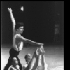 "New York City Ballet production of ""Apollo"" with Edward Villella and Suki Schorer, Carol Sumner, and Patricia McBride, choreography by George Balanchine (New York)"