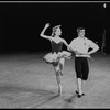 "New York City Ballet production of ""Tarantella"" with Suki Schorer and Edward Villella, choreography by George Balanchine (New York)"
