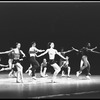 "New York City Ballet production of ""Clarinade"" with Suzanne Farrell, Anthony Blum, Gloria Govrin and Arthur Mitchell, choreography by George Balanchine (New York)"