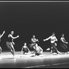"New York City Ballet production of ""Clarinade""; center are Suzanne Farrell and Anthony Blum, choreography by George Balanchine (New York)"