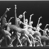 "New York City Ballet production of ""Fanfare"" with Carol Sumner in front, choreography by Jerome Robbins (New York)"