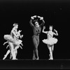 "New York City Ballet production of ""Fanfare"" with Michael Steele and Delia Peters (R), choreography by Jerome Robbins (New York)"
