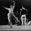 "New York City Ballet production of ""Swan Lake""; George Balanchine rehearsing Edward Villella, choreography by George Balanchine (New York)"