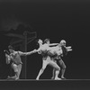 """New York City Ballet production of """"Con Amore"""" with Jillana and Deni Lamont, William Weslow and unidentified dancer, choreography by Lew Christensen (New York)"""