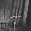 "New York City Ballet production of ""The Cage"", Allegra Kent takes a bow in front of curtain, choreography by Jerome Robbins (New York)"