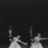 """New York City Ballet production of """"Liebeslieder Walzer"""" with Violette Verdy and Nicholas Magallanes, Suzanne Farrell and Kent Stowell, Patricia McBride and Frank Ohman, Mimi Paul and Conrad Ludlow, choreography by George Balanchine (New York)"""