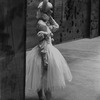 "New York City Ballet production of ""Illuminations"" Mimi Paul backstage awaits entrance cue, choreography by Frederick Ashton (New York)"