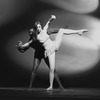 """New York City Ballet production of """"Metastaseis and Pithoprakta"""" with Suzanne Farrell and Arthur Mitchell, choreography by George Balanchine (New York)"""