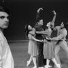 "New York City Ballet production of ""Fantasies"" with John Clifford and dancers Kay Mazzo, Conrad Ludlow, Sara Leland and Anthony Blum, choreography by John Clifford (New York)"