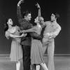 "New York City Ballet production of ""Fantasies"" with Kay Mazzo, Conrad Ludlow, Sara Leland and Anthony Blum, choreography by John Clifford (New York)"