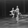 """New York City Ballet production of """"Fantasies"""" with Kay Mazzo in rear, Sara Leland and Anthony Blum, choreography by John Clifford (New York)"""