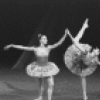 "New York City Ballet production of ""Ballet Imperial"" with Patricia McBride and Conrad Ludlow kneeling, choreography by George Balanchine (New York)"
