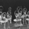 "New York City Ballet production of ""Ballet Imperial"" with Deborah Flomine, Patricia McBride and Conrad Ludlow, choreography by George Balanchine (New York)"