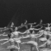"""New York City Ballet production of """"Ballet Imperial"""" with Deborah Flomine and Patricia McBride, choreography by George Balanchine (New York)"""