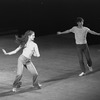 "New York City Ballet production of ""Prelude, Fugue and Riffs"" with Linda Merrill and John Clifford, choreography by John Clifford (New York)"