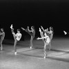 "New York City Ballet production of ""Prelude, Fugue and Riffs"" with Allegra Kent and John Clifford, choreography by John Clifford (New York)"