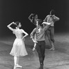 """New York City Ballet production of """"Dances at a Gathering"""" with Kay Mazzo and John Prinz, choreography by Jerome Robbins (New York)"""