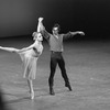 """New York City Ballet production of """"Dances at a Gathering"""" with Sara Leland and John Prinz, choreography by Jerome Robbins (New York)"""