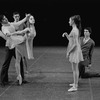 "New York City Ballet production of ""Tschaikovsky suite no. 1"", (""Reveries""), John Clifford with Johnna Kirkland and Conrad Ludlow, Gelsey Kirkland and Anthony Blum, choreography by John Clifford (New York)"