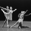 "New York City Ballet production of ""Tschaikovsky suite no. 1"", (""Reveries""), with Johnna Kirkland and Conrad Ludlow, Gelsey Kirkland and Anthony Blum, choreography by John Clifford (New York)"