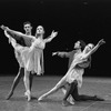 """New York City Ballet production of """"Tschaikovsky suite no. 1"""", (""""Reveries""""), with Johnna Kirkland and Conrad Ludlow, Gelsey Kirkland and Anthony Blum, choreography by John Clifford (New York)"""