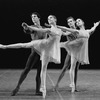 "New York City Ballet production of ""Tschaikovsky suite no. 1"", (""Reveries""), with Gelsey Kirkland and Anthony Blum, Johnna Kirkland and Conrad Ludlow, choreography by John Clifford (New York)"