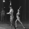 """New York City Ballet production of """"Four Last Songs"""" with Lorca Massine and Susan Pilarre, choreography by Lorca Massine (New York)"""