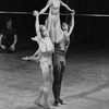 """New York City Ballet production of """"Four Last Songs"""" with Susan Pilarre, Bryan Pitts and Robert Maiorano, choreography by Lorca Massine (New York)"""