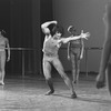 "New York City Ballet production of ""Four Last Songs"" with Lorca Massine center, choreography by Lorca Massine (New York)"