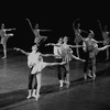 "New York City Ballet production of ""The Goldberg Variations"" with Patricia McBride, Susan Hendl and Karin von Aroldingen, choreography by Jerome Robbins (New York)"