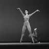"""New York City Ballet production of """"Piano-Rag-Music"""" with Gloria Govrin and John Clifford, choreography by Todd Bolender (New York)"""
