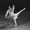 """New York City Ballet production of """"Scherzo Fantastique"""" with Gelsey Kirkland and Bart Cook, choreography by George Balanchine (New York)"""