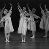 "New York City Ballet production ""Scherzo a la Russe"" with Karin von Aroldingen and Kay Mazzo, choreography by George Balanchine (New York)"