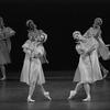 "New York City Ballet production ""Scherzo a la Russe"" with Kay Mazzo and Karin von Aroldingen, choreography by George Balanchine (New York)"