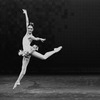 """New York City Ballet production of """"Saltarelli"""" with Christine Redpath, choreography by Jacques d'Amboise (New York)"""