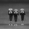 """New York City Ballet production of """"Fanfare"""" with choreography by Jerome Robbins (New York)"""