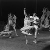 """New York City Ballet production of """"Bugaku"""" with Kay Mazzo and Jean-Pierre Bonnefous, choreography by George Balanchine (New York)"""