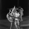 """New York City Ballet production of """"Bugaku"""" with Suzanne Farrell and Jean-Pierre Bonnefous, choreography by George Balanchine (New York)"""