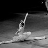 "New York City Ballet production of ""Fanfare"" with Colleen Neary as the Harp, choreography by Jerome Robbins (New York)"