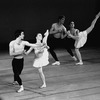 "New York City Ballet production of ""Tombeau de Couperin"", with Judith Fugate and Francis Sackett, choreography by George Balanchine (New York)"