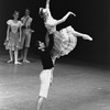 "New York City Ballet production of ""Bournonville Divertissements"" with Judith Fugate and Jean-Pierre Frohlich, choreography by August Bournonville (staged by Stanley Williams) (New York)"
