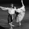 "New York City Ballet production of ""Bournonville Divertissements"" with Suzanne Farrell and Peter Martins, choreography by August Bournonville (staged by Stanley Williams) (New York)"