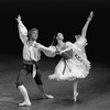 """New York City Ballet production of """"Bournonville Divertissements"""" with Suzanne Farrell and Peter Martins, choreography by August Bournonville (staged by Stanley Williams) (New York)"""