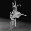 """New York City Ballet production of """"Bournonville Divertissements"""" with Victor Castelli and Wilhelmina Frankfurt, choreography by August Bournonville (staged by Stanley Williams) (New York)"""