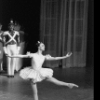 """New York City Ballet production of """"The Steadfast Tin Soldier"""" with Patricia McBride and Mikhail Baryshnikov, choreography by George Balanchine (New York)"""